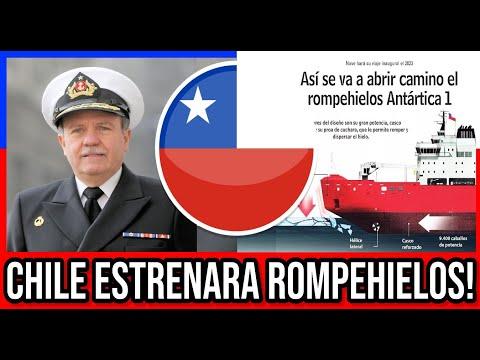 Chile Nuevo RompeHielos Reforzara Presencia en Antártica 🔴 #Chile #Valparaiso #ViñaDelMar #BioBio