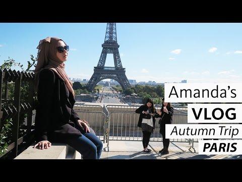 Amanda's Vlog #10 - Autumn Trip | PARIS