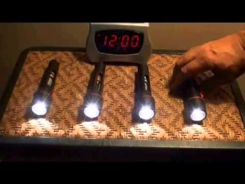 BATTERY TEST DURACELL ENERGIZER RAYOVAC WHICH ONE LASTS ...