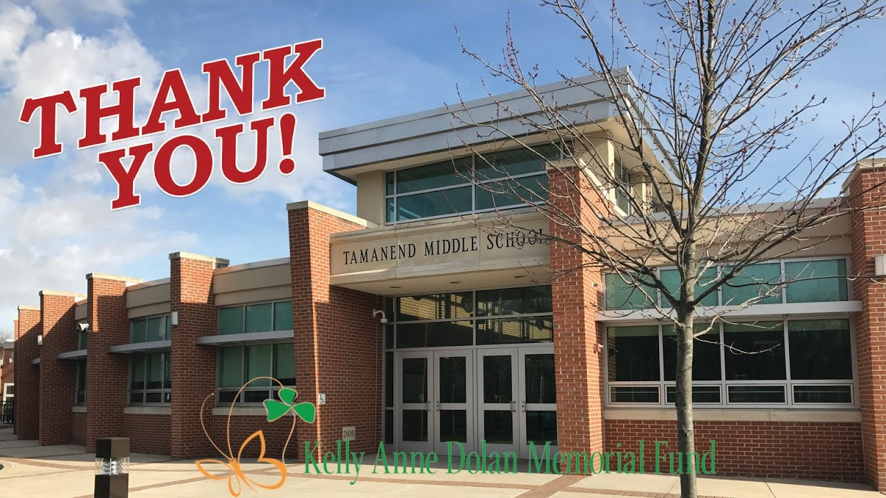 Thank you Tamanend Middle School - KADDay2017 - YouTube