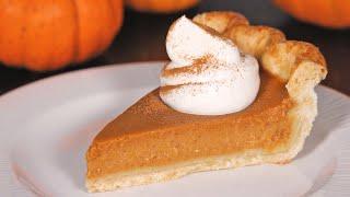 The Best Pumpkin Pie from Scratch  How Tasty Channel
