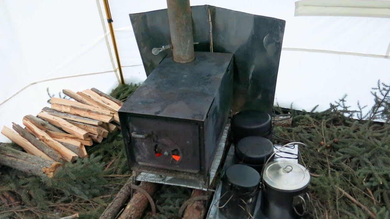 Hot Tent Woodstove Set Up Solo Hot Tent Trip Part 2
