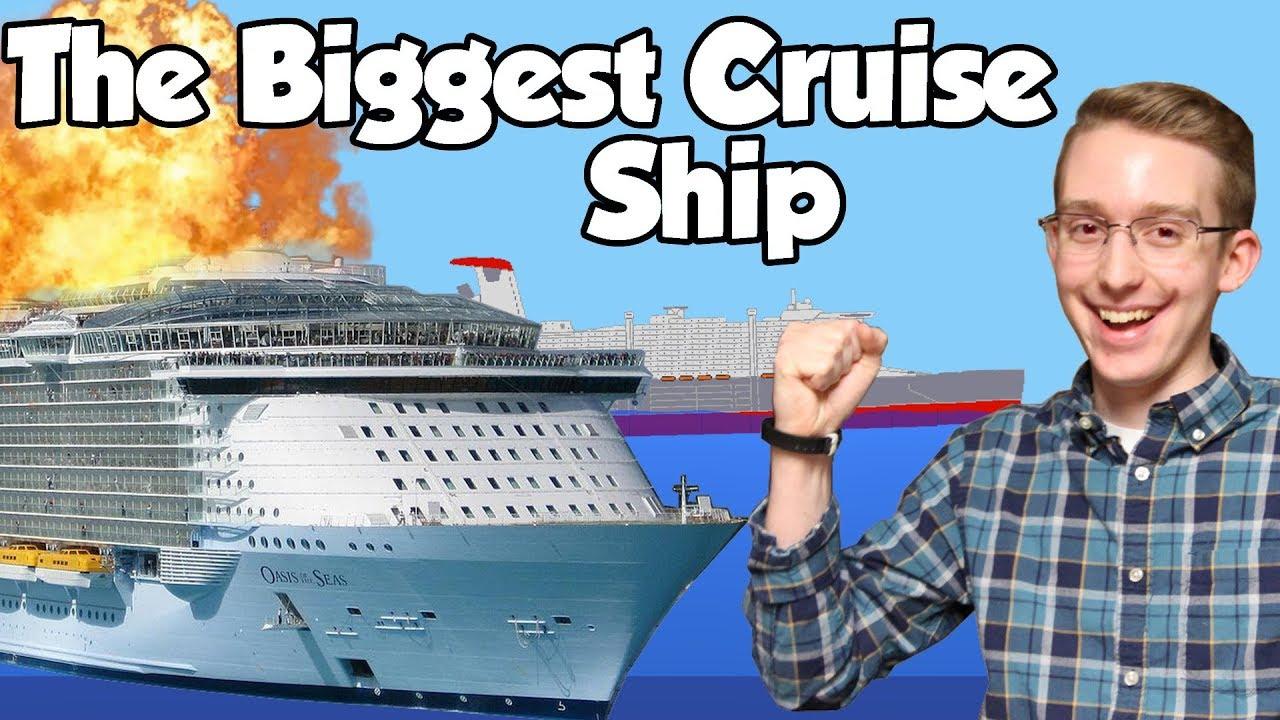 Sinking Ship Simulator - Sinking the Largest Cruise Ship Ever
