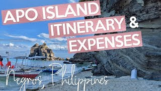 How to go to APO ISLAND, PHILIPPINES (itinerary and expenses 2018)