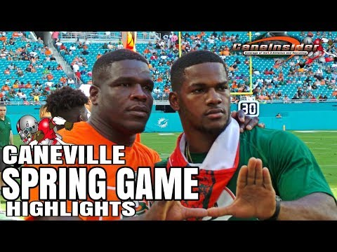 Highlights - Miami Hurricane Spring Game 2018