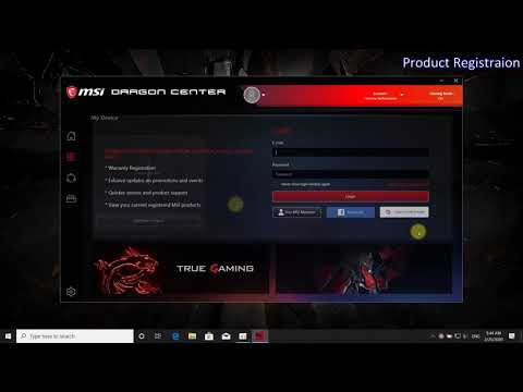 MSI® HOW-TO Use MSI Dragon Center - My Device