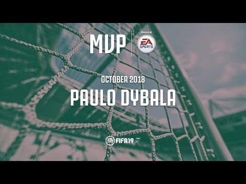 Juventus Italy Map.Paulo Dybala Wins The Juventus October Mvp Award With Ea Sports