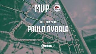 Paulo Dybala wins the Juventus October MVP award with EA Sports!