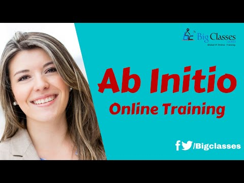 Ab Initio  Training - Ab Initio Administrator Tutorials - Bi