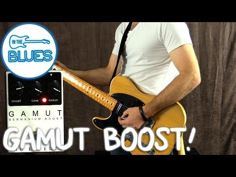 GAMUT Treble Boost Pedal by Arc Effects