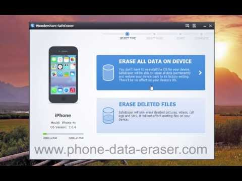 [iPhone Data Eraser]: How to Remove/Erase/Delete All iPhone 7/6S/6/5S/5C/5/4S/4 Data Permanently?