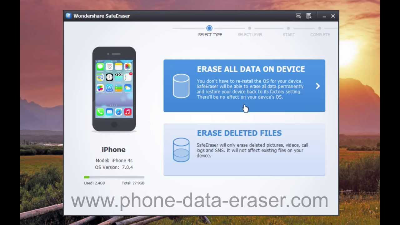 how to erase emails on iphone 5c