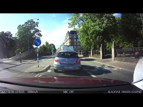 Dashcam i Malmö #2 - För vi har tagit studenten - Dashcamsverige.se