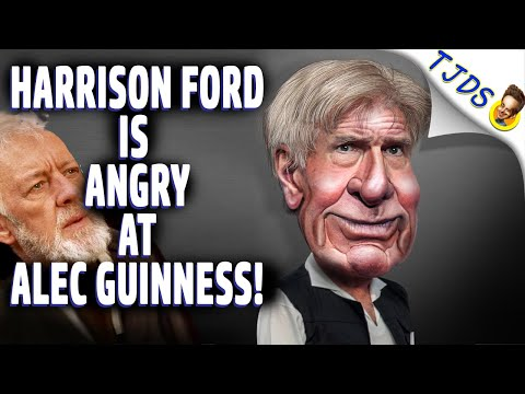 Harrison Ford is Angry at Alec Guinness!