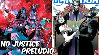"""LA NUEVA LIGA DE LA JUSTICIA Y EL INVITADO SORPRESA EN LA BODA DE BATMAN """"DC NATION #0"""" @SoyComicsTj"""