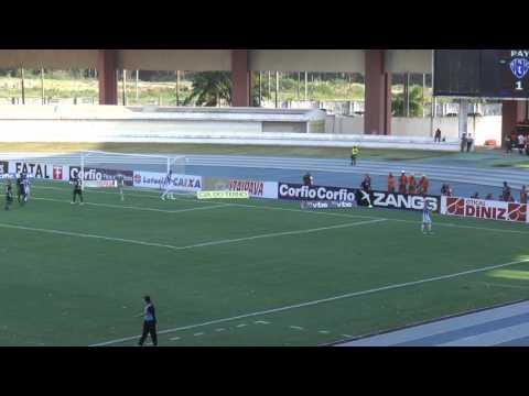 TV EDSON MATOSO- PRINCIPAIS LANCES PAYSANDU 1X1 GOIÁS