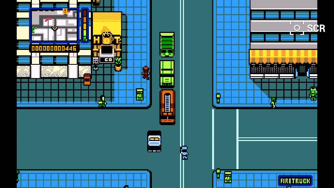 Retro City Rampage on Android (DosBox, nVidia Shield Portable 4 4 2)