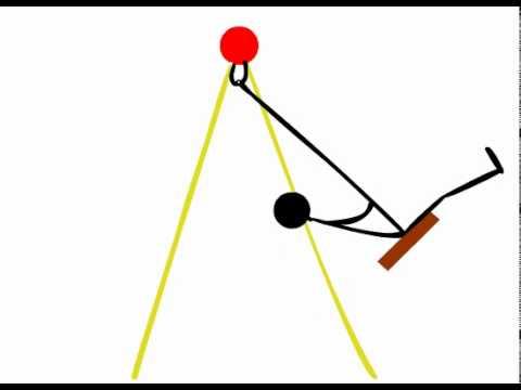 Animated Swinging Watch