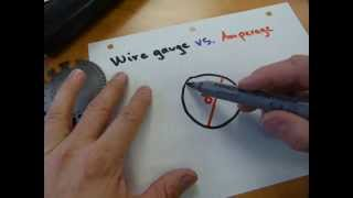 Wire size vs. amperage