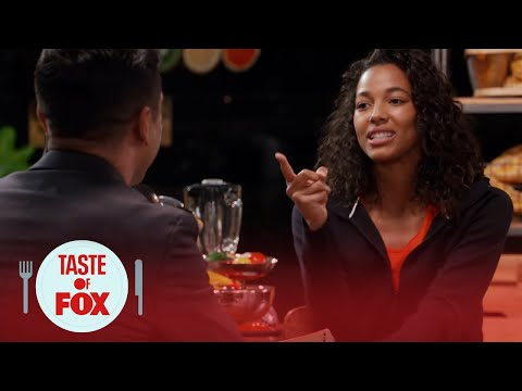Kylie Bunbury Drills Mark Consuelos With Questions  TASTE OF FOX
