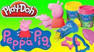 Plastelina pro děti - Prasátko Peppa mega těsto Peppa Pig | Hračky pro děti