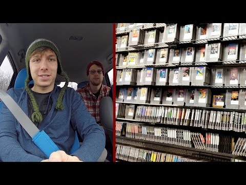 Driving Down To MGC 2018! Game, Thrift, & Pawn Stores - bizzNES17