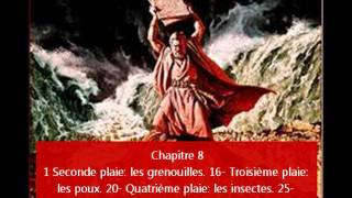 1 partie du livre de  Exode en audio