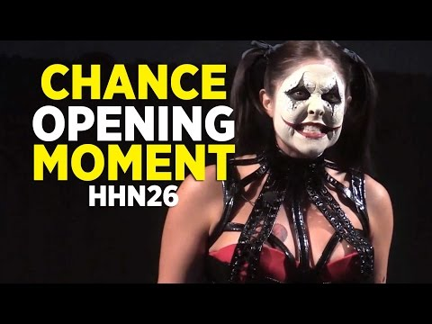 Chance opening ceremony for Halloween Horror Nights 2016 at Universal Orlando
