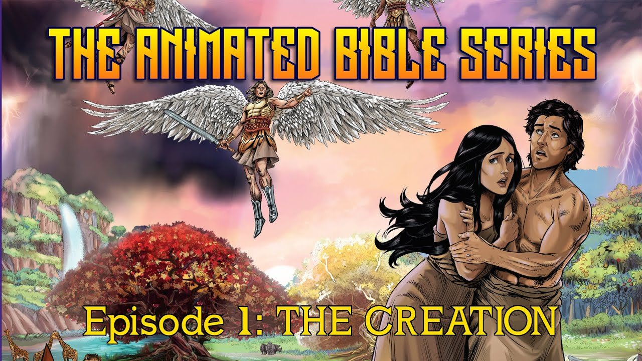 Download The Animated Bible Series | Season 1 | Episode 1 | The Creation | Michael Arias | Steve Cleary