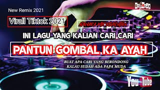 LAGU JOGET TERBARU - GOMBAL KA AYAH REMIX    ADONARA MIX REVOLUTION   PARTY RAKAT 2021