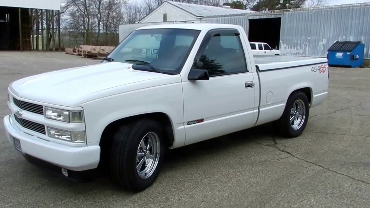 1993 chevrolet 454 ss pickup truck for sale online auction youtube. Black Bedroom Furniture Sets. Home Design Ideas
