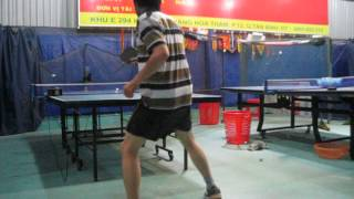 Training With Ping Pong Robot