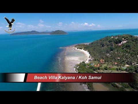 Beach Villa Kalyana Bang Kao Koh Samui /Thailand overflown with my drone