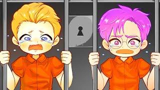 We Were Sent To JAIL! (LankyBox Animated Storytime)