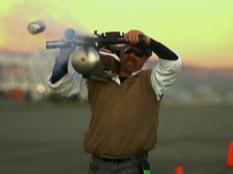 Pop Cannon - MythBusters