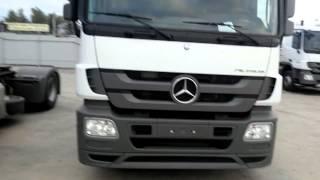 Mercedes-Benz Actros 1841 Мерседес-Бенц Актрос 495-308-99-99(Год выпуска 2013 Цена 88 750 € Колесная формула 4х2 Исполнение шасси Седельный тягач, L-кабина Мощность двигател..., 2013-12-12T09:38:12.000Z)