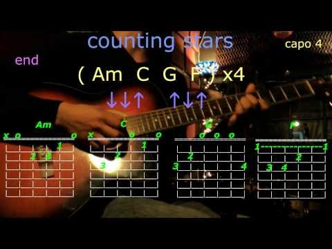counting stars one republic guitar chords
