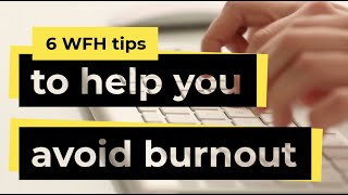 How To Avoid Burnout! #WednesdayWisdom