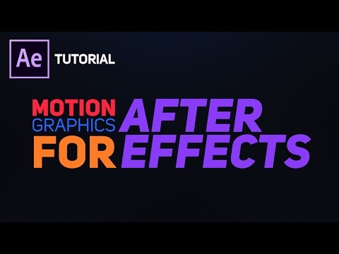 Create Bouncy Text Typography in After Effects - Complete After Effects Tutorial