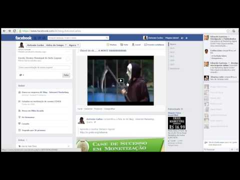Aprenda como Baixar Videos do Facebook | Vídeo Aula