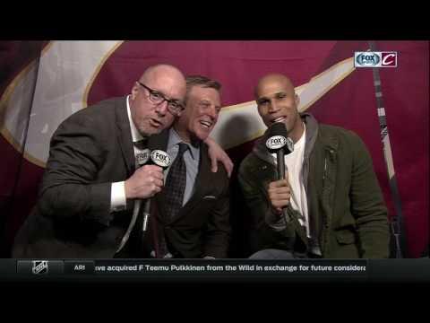 Cavaliers GM David Griffin interrupts Richard Jefferson