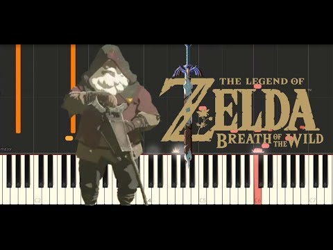 Zelda Breath of the WIld - A King's Request (Synthesia Piano Tutorial)