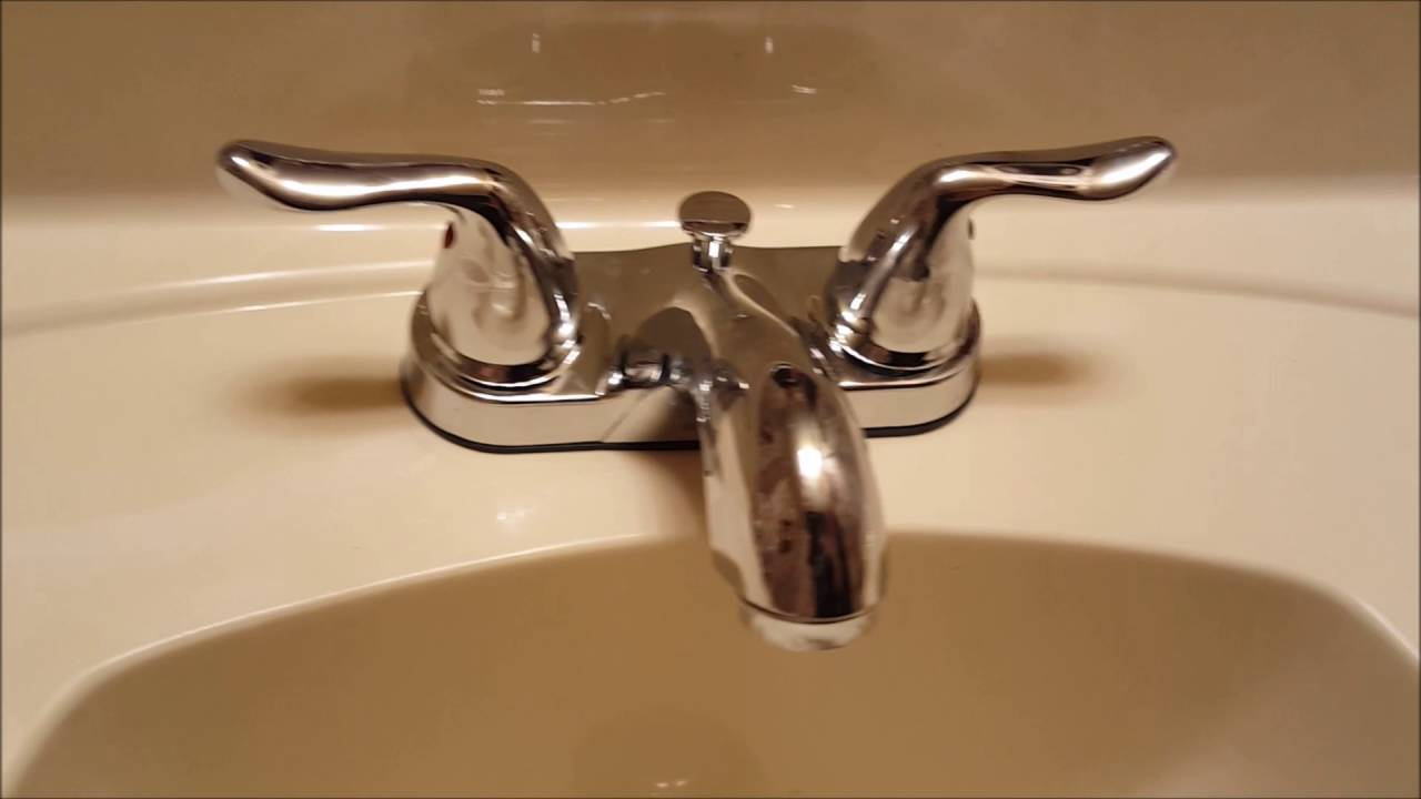 Glacier Bay Faucet Model 217 251 Review Unboxing YouTube