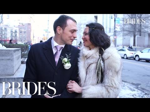 New York City Hall Valentine's Day Weddings | Brides