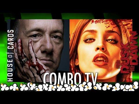 Combo TV.-  House Of Cards y Del Crepúsculo al Amanecer