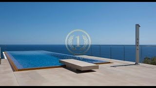 Modern style villa with stunning views of Formentera and Dalt Vila - Luxury Villas Ibiza