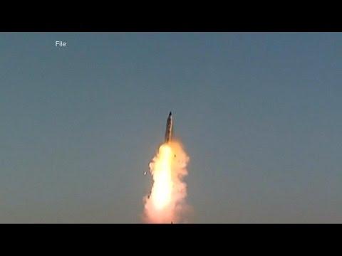 North Korea's ballistic missile test explodes seconds after blastoff