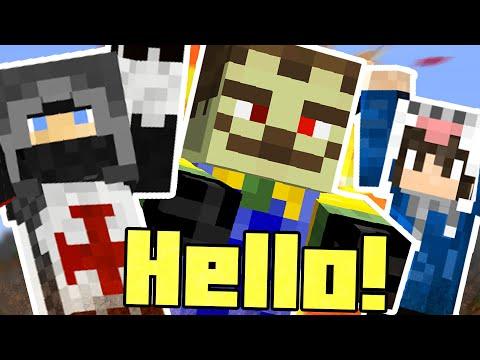 Zombi szomszéd! - w/ OwnMcKendry - Minecraft Custom Map - Hello Zombie