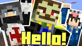 ZOMBI SZOMSZÉD? - w/ OwnMcKendry - Minecraft Custom Map - Hello Zombie