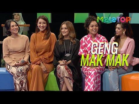 Geng Mak Mak bagi nasihat  Datin Elvina Sazzy Falak Nad Zainal Rita Rudaini Fatin Afeefa